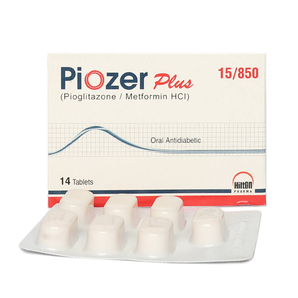 Piozer Plus 15/850mg