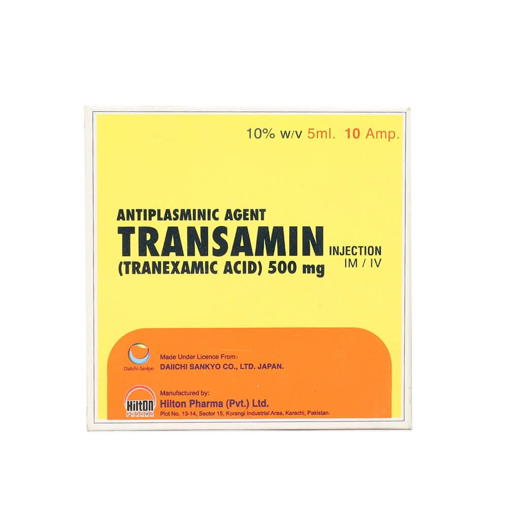 Transamin 500mg 5ml