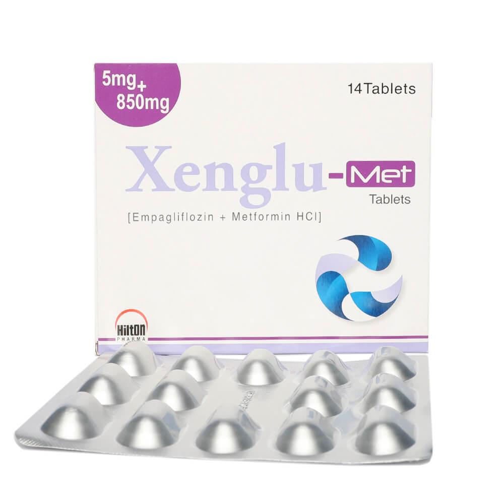 Xenglu-Met 5/850mg