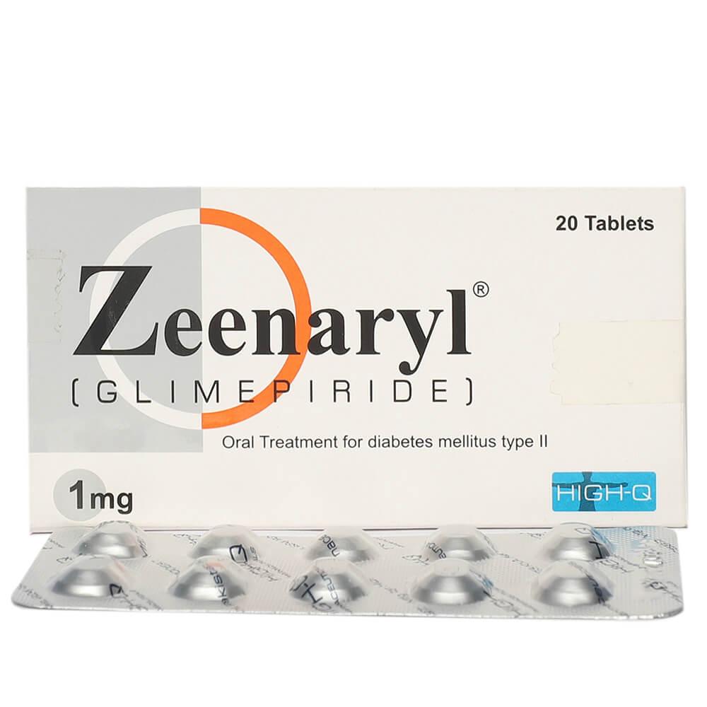 Zeenaryl 1mg