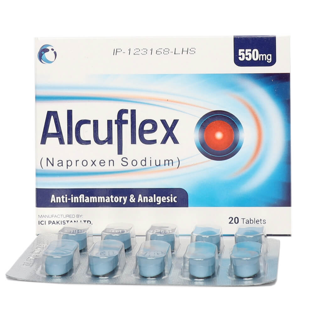 Alcuflex 550mg