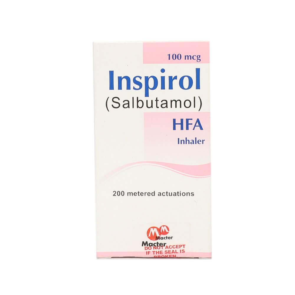 Inspirol Inhaler 200 Doses