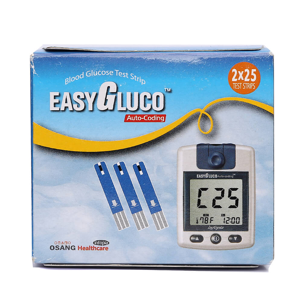 Easy Gluco 50 Strips