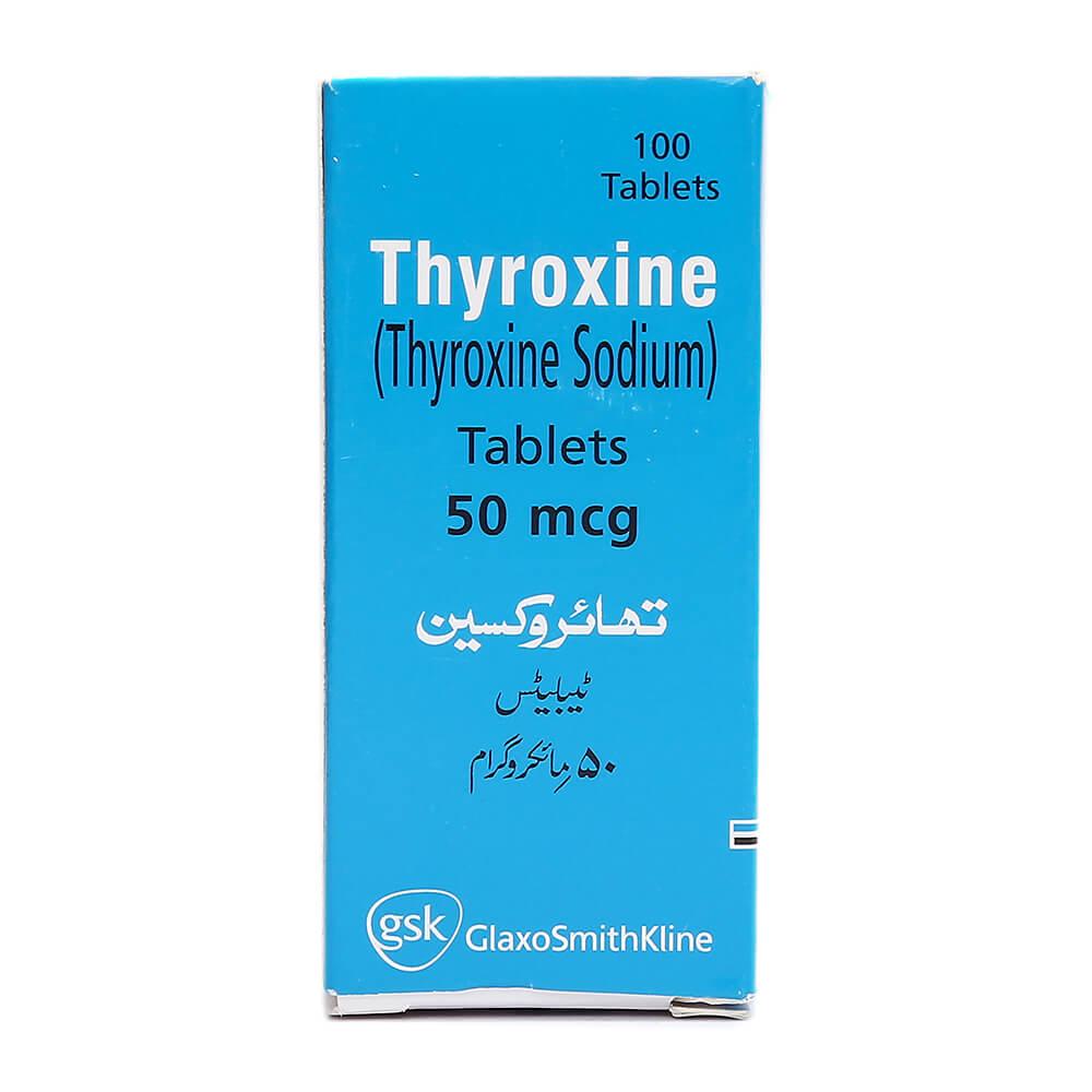 Thyroxine 50mcg